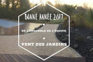 Voeux équipe Vent Des Jardins 2017