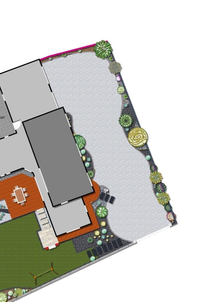 Conception vent des jardins for Plan de conception